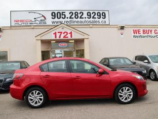Used 2013 Mazda MAZDA3 Sunroof, Alloys, WE APPROVE ALL CREDIT for sale in Mississauga, ON