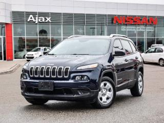 Used 2014 Jeep Cherokee 4x2 Sport Accident Free*Bluetooth*Alloys for sale in Ajax, ON