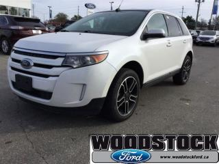 Used 2013 Ford Edge SEL Moonroof - NAV - Appearance Package for sale in Woodstock, ON
