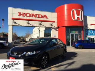 Used 2015 Honda Civic Sedan EX, excellent condition for sale in Scarborough, ON