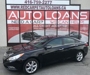 Used 2013 Hyundai Sonata Limited LIMITED-0% DOWN ALL CREDIT ACCEPTED for sale in Scarborough, ON