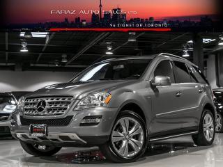 Used 2011 Mercedes-Benz ML 350 NAVI|BLINDSPOT|REAR CAM|PUSH START|BLUETEC|LOADED for sale in North York, ON
