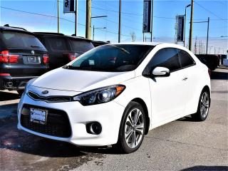 Used 2016 Kia Forte Koup 2.0L EX REAR CAMERA, ALUMINUM WHEELS !!! for sale in Concord, ON
