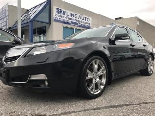 Used 2012 Acura TL HEAT AND COOL SEATS|ALLOY WHEELS|LEATHER SEATS|CERTIFIED for sale in Concord, ON