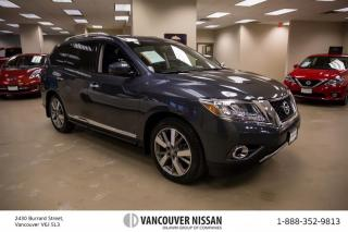 Used 2014 Nissan Pathfinder Platinum V6 4x4 at Rear DVD entertainment! for sale in Surrey, BC