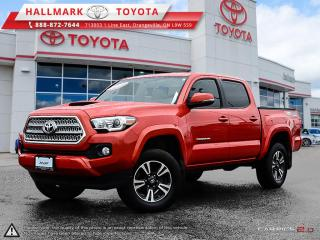 Used 2016 Toyota Tacoma 4x4 Double Cab V6 TRD Sport 6M for sale in Mono, ON