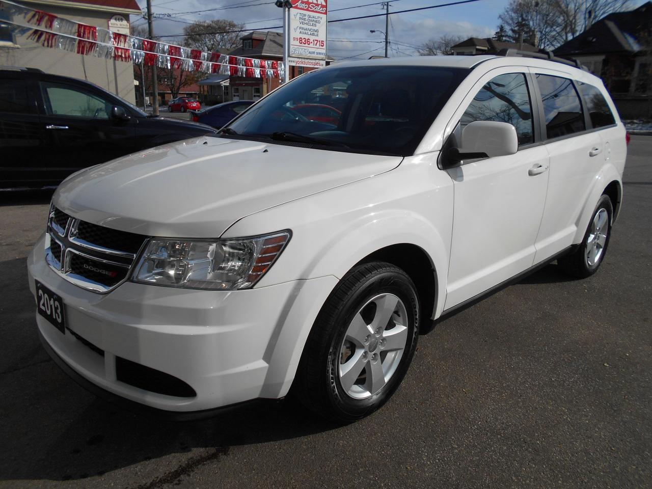 Photo of White 2013 Dodge Journey