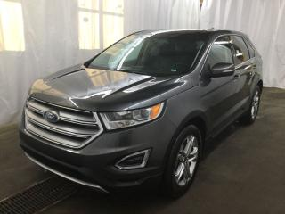 Used 2016 Ford Edge Titanium AWD, Lthr, Moonroof, Nav for sale in Waterloo, ON