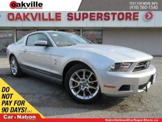 Used 2010 Ford Mustang V6 | CRUISE CONTROL | 5 SPEED M/T | A/C | LOW KM! for sale in Oakville, ON