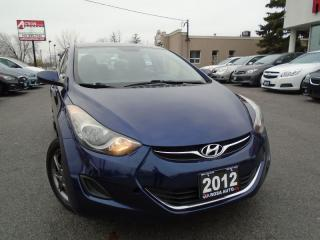 Used 2012 Hyundai Elantra GLS  LOW MILEAGE AUX,USB,Ipod, BLUETOOTH,PM,PW,PL for sale in Oakville, ON