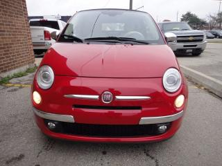 Used 2012 Fiat 500 CONVERTIBLE.MINT CONDITION,AUTO for sale in North York, ON
