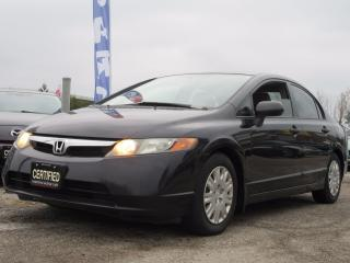 Used 2006 Honda Civic DX / ONE OWNER / ACCIDENT FREE for sale in Newmarket, ON
