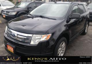 Used 2008 Ford Edge SEL, AWD, PANORAMIC SUNROOF for sale in Scarborough, ON
