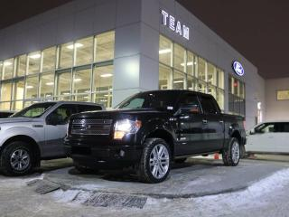 Used 2013 Ford F-150 LIMITED, 900A, SYNC, NAV, REAR CAMERA, HEATED/COOLED FRONT SEATS, POWER MOONROOF, LTHER, 4X4 for sale in Edmonton, AB