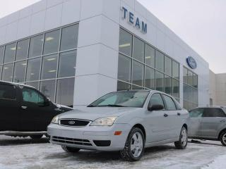 Used 2007 Ford Focus S, 400A, MANUAL, CLTH, FWD for sale in Edmonton, AB
