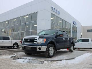 Used 2013 Ford F-150 LARIAT, 500A, SYNC, REAR CAMERA, TAILGATE STEP, AIR CONDITIONING, TOW PKG, LTHER, 4X4 for sale in Edmonton, AB
