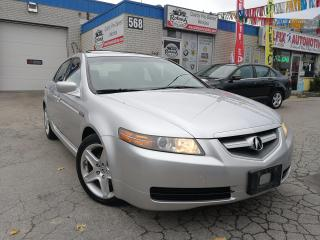 Used 2006 Acura TL Accident Free w/Sunroof_Leather for sale in Oakville, ON