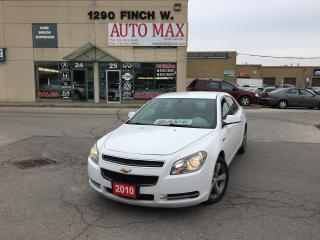 Used 2010 Chevrolet Malibu Hybrid, Certified, Alloy Rims, Hybrid for sale in North York, ON