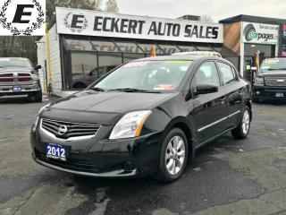Used 2012 Nissan Sentra SL WITH NAV/LEATHER/SUNROOF for sale in Barrie, ON