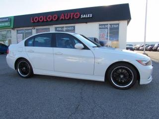 Used 2007 BMW 3 Series 323i LEATHER SUNROOF CERTIFIED 2YR WARRANTY for sale in Milton, ON