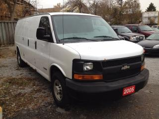 Used 2005 Chevrolet Express 3500 LONG /1 TON for sale in Scarborough, ON