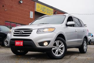 Used 2012 Hyundai Santa Fe SE,Low KMs, Bluetooth,Leather,Sunroof for sale in North York, ON