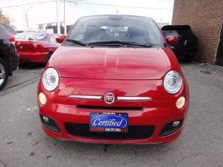 Used 2015 Fiat 500 SPORT PACK ,MINT CONDITION for sale in North York, ON
