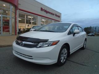 Used 2012 Honda Civic LX for sale in Bridgewater, NS