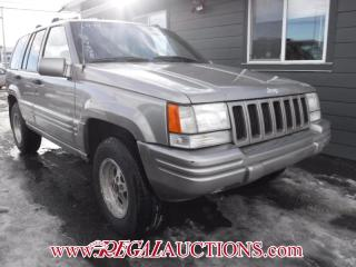 Used 1998 Jeep Grand Cherokee 4D Utility 4WD for sale in Calgary, AB