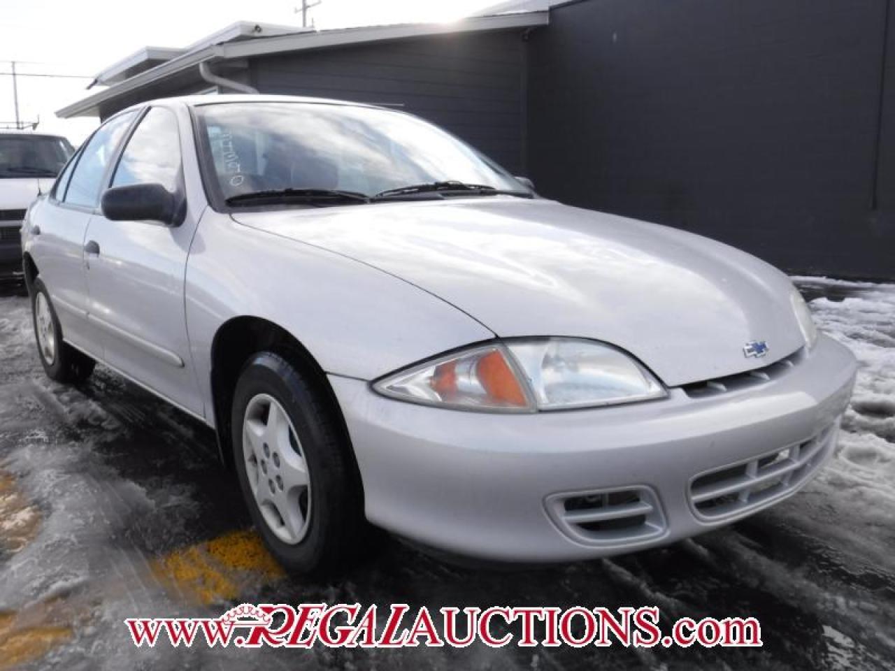Photo of Silver 2001 Chevrolet CAVALIER  4D SEDAN