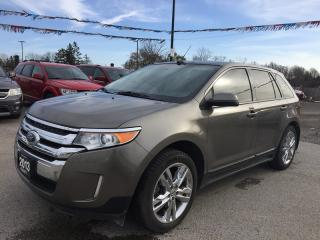 Used 2013 Ford EDGE SEL * ECOBOOST * LEATHER * NAV * REAR CAM * PANO SUNROOF * BLUETOOTH for sale in London, ON