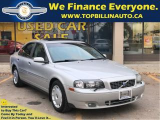 Used 2004 Volvo S80 2.5T AWD Sunroof, 2 YEARS WARRANTY for sale in Concord, ON