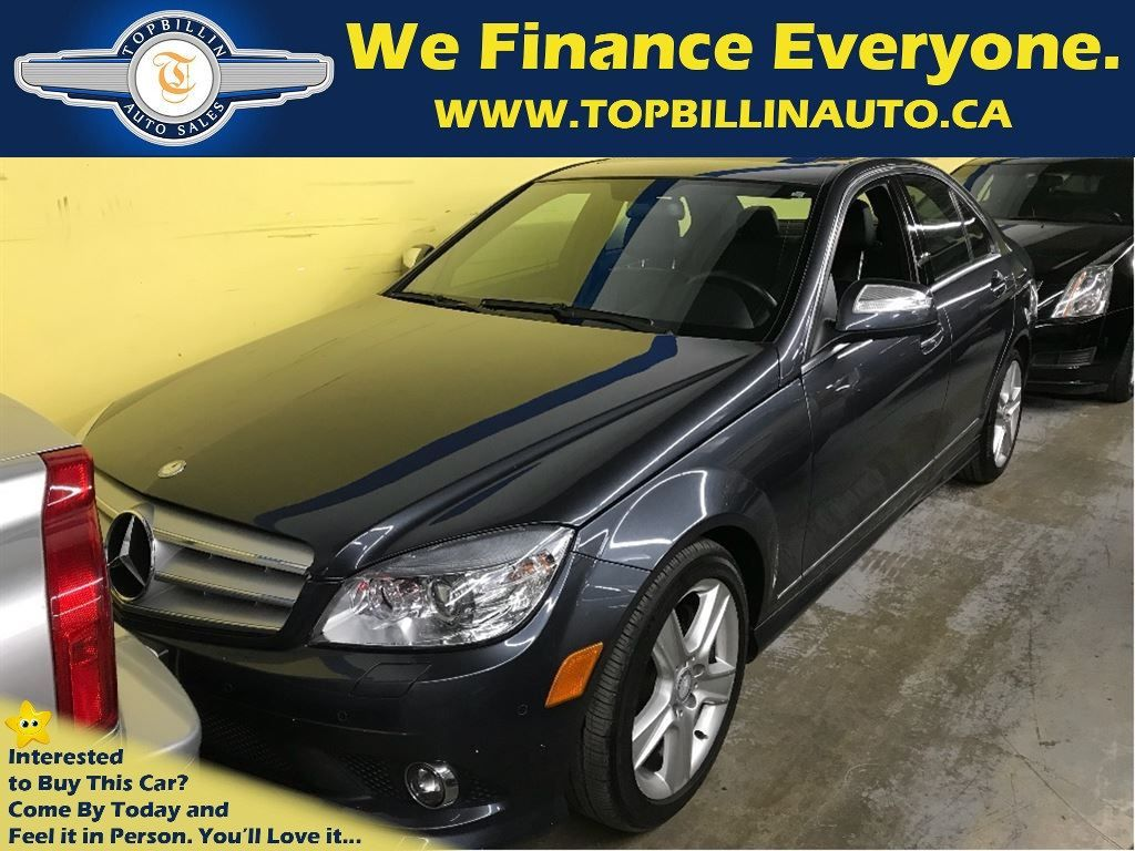 2009 Mercedes-Benz C-Class C300 4Matic with Only 71K kms