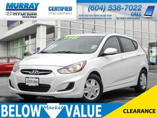 Used 2013 Hyundai Accent GL**Heated Seats**Bluetooth** for sale in Surrey, BC