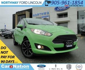 Used 2015 Ford Fiesta SE | NAV | MYFORD TOUCH | SYNC | for sale in Brantford, ON