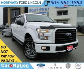 Used 2015 Ford F-150 XLT | REAR CAM | PHONE CONNECT | RUNNING BOARDS | for sale in Brantford, ON