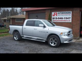 Used 2012 Dodge Ram 1500 5.7L HEMI Crew Cab - Loaded with Options for sale in Elginburg, ON