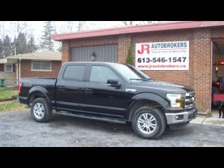 Used 2016 Ford F-150 Lariat Supercrew 4X4 - Absolutely Loaded for sale in Elginburg, ON