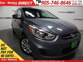 Used 2016 Hyundai Accent LE| HEATED SEATS| ONE PRICE INTEGRITY| for sale in Burlington, ON