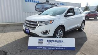 Used 2017 Ford Edge SEL AWD 3.5L V6 Leather, Moon, Navi for sale in Stratford, ON