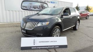 Used 2014 Lincoln MKX AWD 3.7L V6 Leather, Moon, Navi for sale in Stratford, ON