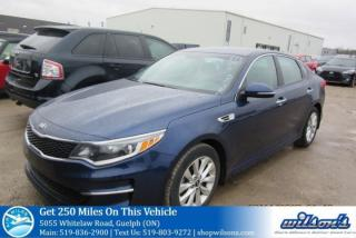 Used 2016 Kia Optima LX+ REAR CAMERA! BLUETOOTH! CRUISE CONTROL! POWER PACKAGE! KEYLESS ENTRY! ALLOYS! for sale in Guelph, ON