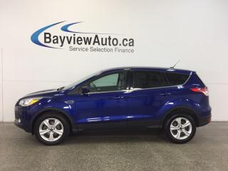 Used 2015 Ford Escape SE- ECOBOOST|ALLOYS|HTD STS|REV CAM|SYNC|LOW KM! for sale in Belleville, ON