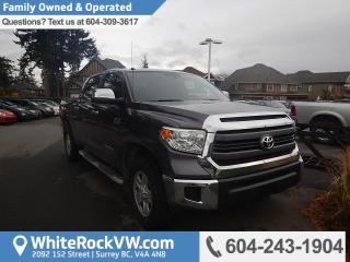 Used 2015 Toyota Tundra SR5 5.7L V8 Trailer Hitch Receiver, Radio Data System & Exterior Parking Camera Rear for sale in Surrey, BC