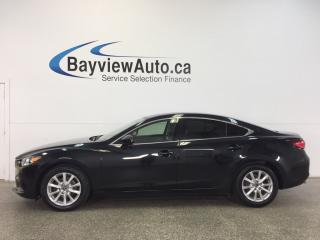 Used 2014 Mazda MAZDA6 GS- 6 SPEED|TINT|ROOF|HTD LTHR|NAV|BSM|REV CAM! for sale in Belleville, ON