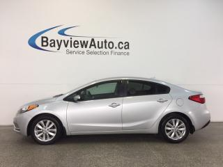 Used 2016 Kia Forte LX- 1.8L|AUTO|ALLOYS|HTD STS|BLUETOOTH|CRUISE! for sale in Belleville, ON