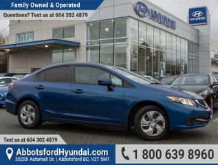 Used 2014 Honda Civic LX ONE OWNER & BC OWNED for sale in Abbotsford, BC