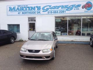 Used 2001 Toyota Corolla CE for sale in St Jacobs, ON