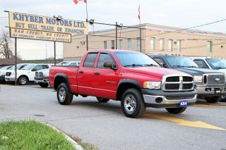 Used 2005 Dodge Ram 1500 ST for sale in Brampton, ON