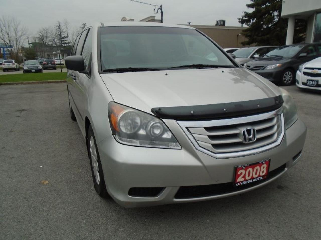 2008 Honda Odyssey LX NO ACCIDENTS  AUX PL,PM,PW SAFETY E TEST INC